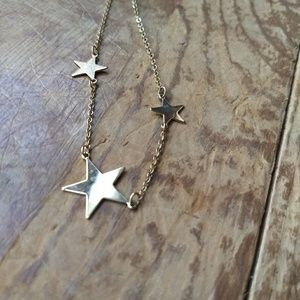 Vintage Sarah Coventry star necklace